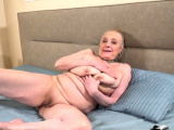 Blonde granny with enormous boobs fucked hard