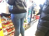 candid booties in jeans compilation