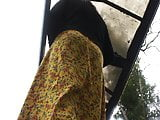 Upskirt 17 at the bus stop