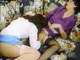 retro lesbians in stockings using sex-toys