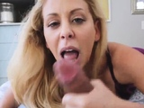 Step mom helping hand bathroom Cherie Deville in
