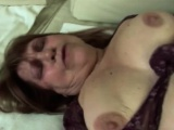 Chubby blonde granny gets banged by younger rod