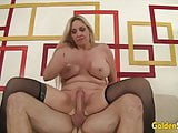 Golden Slut - Gorgeous Grandma Cala Craves Compilation 3
