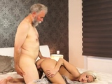 And white mother daddy facial first time Surprise your