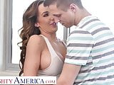 Naughty America Richelle Ryan works up a sweat fucking