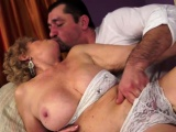 Busty Grandma Having Oral Sex