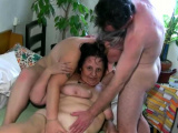 Granny Loves Threesome