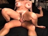 Reverse Cowgirl Exhuasted