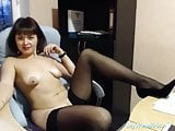ukrainian mature show sexy body and masturbate on cam