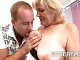 Mature blonde granny fucking very hard
