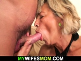 Sexy girlfriends mom rides his cheating cock