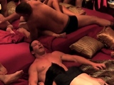 Hot swinger reunion with horny couples