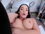 Banged milf jerks shlong