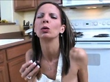 German amateur milf sucks for a facial