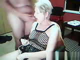 Granny granpa on kinky webcam show