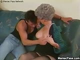 Granny Trains Grand Daughters Boy Friend