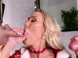 Milf Brandi bangs with horny stepsons