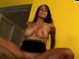 Busty Latin Muse Rides Fat Cock