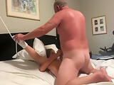 60yr old granny tied up and fucked to orgasm