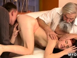 Daddy anal webcam Unexpected practice with an older