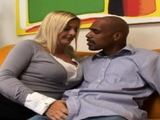 White Wife Demands Interracial BBC Sex Session Moment