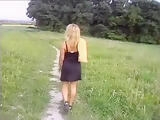 2005 outdoor german blonde chick fucked